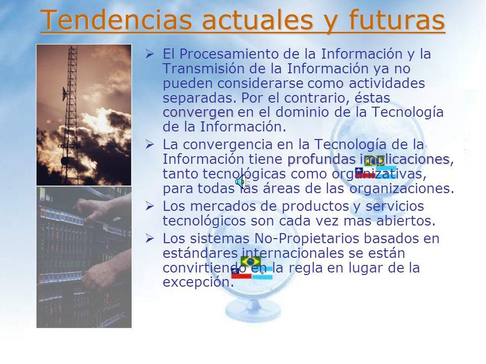 Como resultado de su desarrollo histórico, las organizaciones (Empresas, Gobiernos, etc.) frecuentemente presentan deficiencias en las áreas de Procesamiento de la información y Transmisión de la información.