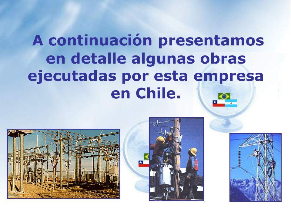 En Junio de 1997 la Empresa inicia sus actividades en la Compania de Eletricidad de Rio de Janeiro, trabajando para la Regional Oceânica en el proyecto Normalizaciones donde se ejecutaron trabajos de distribución, ramales y construcción de redes.