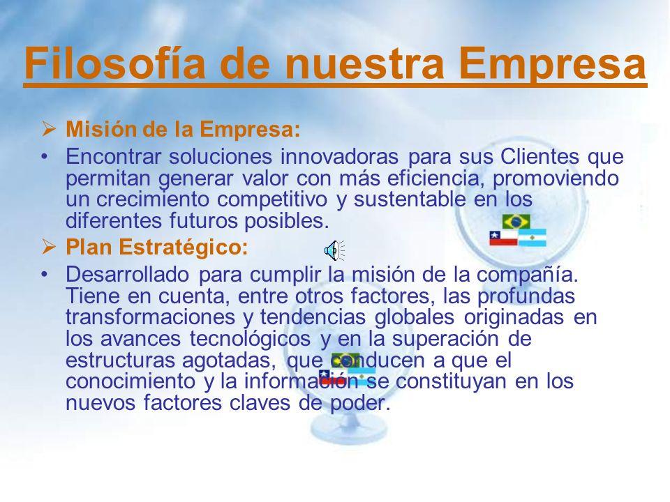 Formación de la Empresa La empresa se forma en Brasil por la unión de EMPAC S.A.
