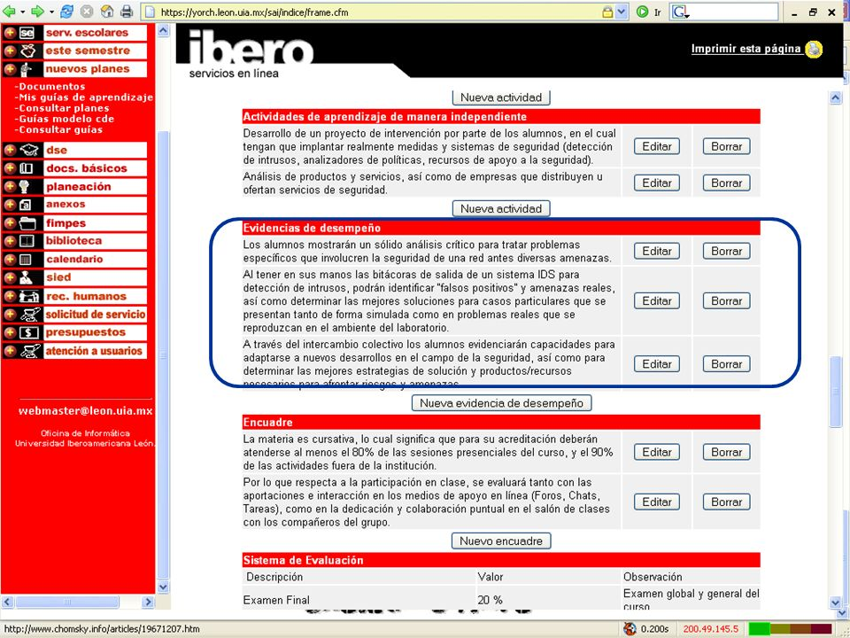 Competencias en la Educación Virtual47