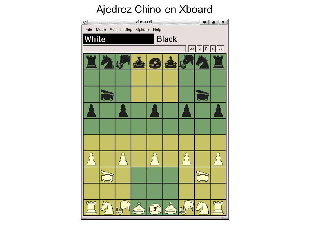 Ajedrez Chino en Xboard