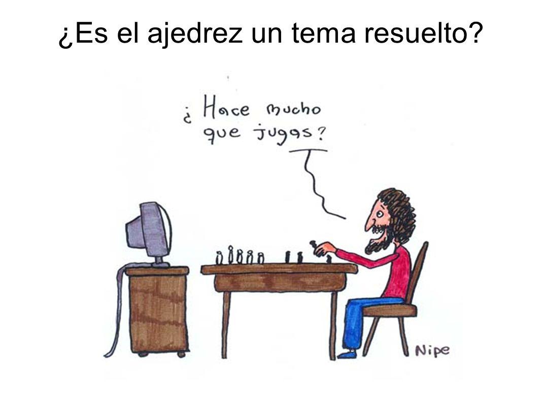 ¿Es el ajedrez un tema resuelto?