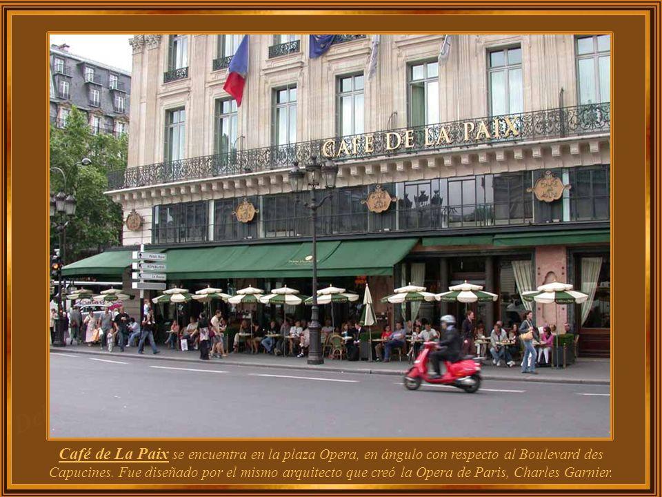 Francia - Paris Café de La Paix