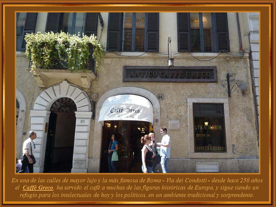 Italia – Roma Café Greco