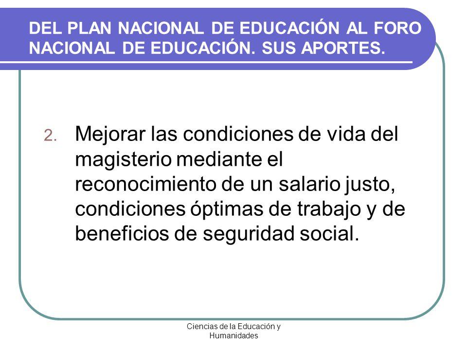 Ciencias de la Educación y Humanidades 3.