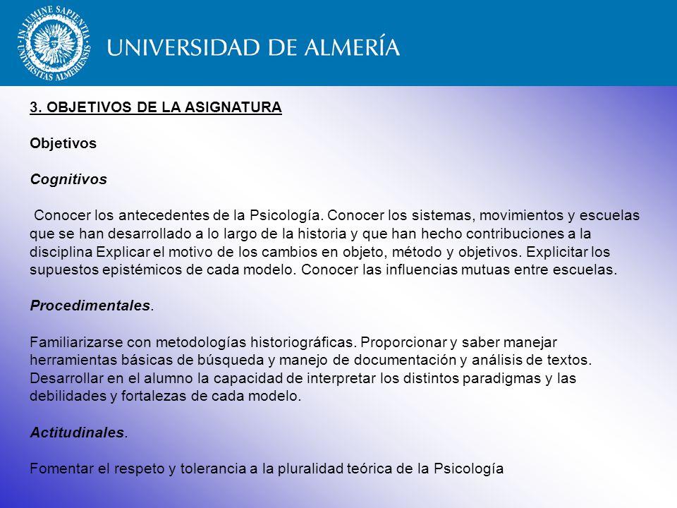 3.ELEMENTOS DE INTERÉS DE LA ASIGNATURA ¿Por qué cursar la asignatura.
