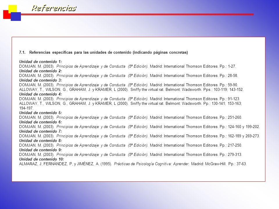 Unidades de Contenido ActividadesCompetencias que desarrolla Metodología Docente Metodología de Evaluación Tipo de espacio* * Momento del curso (+/- dos semanas) Horas de Trabajo Créditos RCTS (Horas/2 5) 1Exposición del tema 2, 4, 23, 27Clase magistral Evaluación continua Aula normal Primer cuatrimestr e (PC): semanas 1 y 2 40.16 Trabajo del alumno 31, 33, 3280.32 Seminario 1.