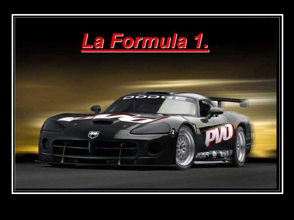La Formula 1.