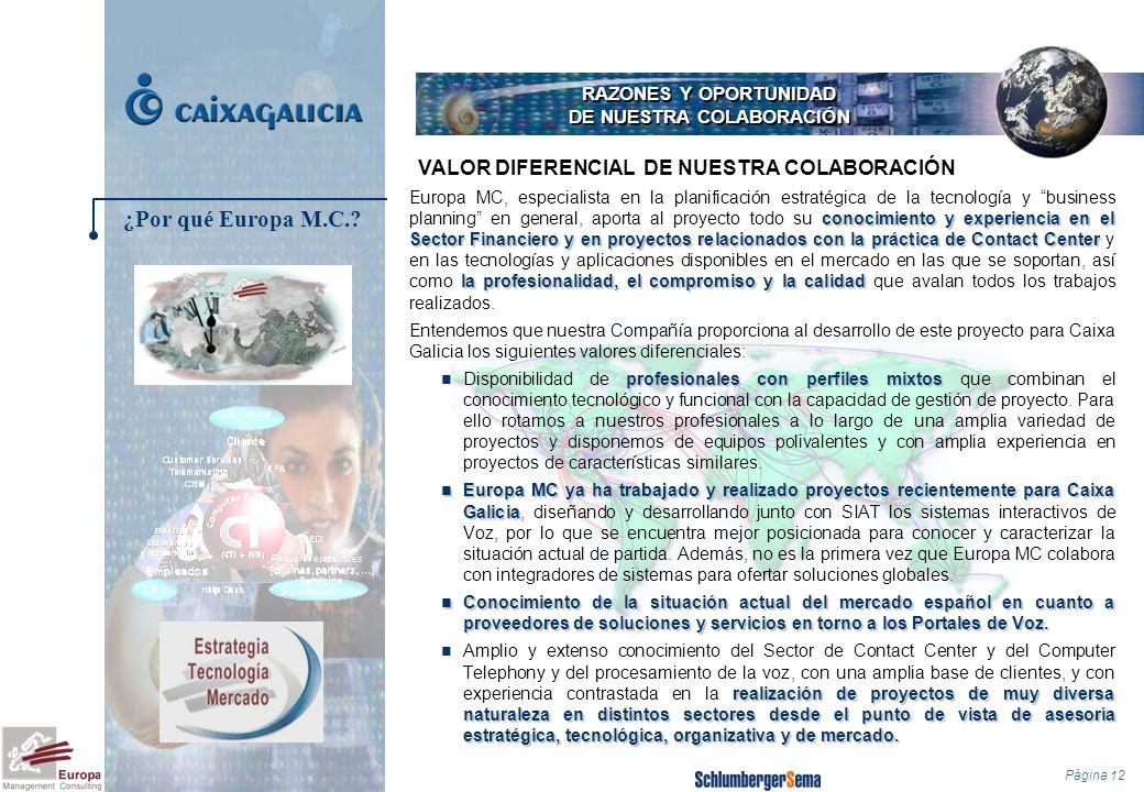 Página 12 RAZONES Y OPORTUNIDAD DE NUESTRA COLABORACIÓN conocimiento y experiencia en el Sector Financiero y en proyectos relacionados con la práctica