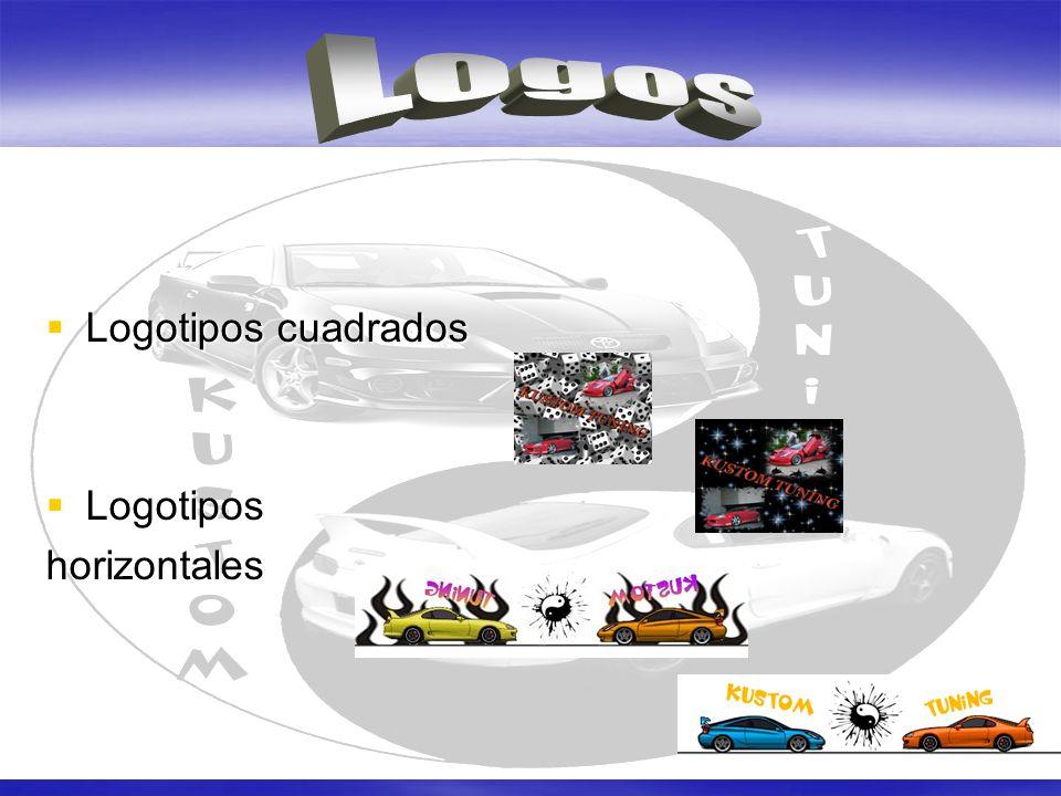 Logotipos cuadrados Logotipos cuadrados Logotipos Logotiposhorizontales