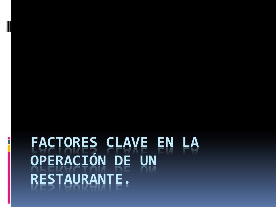 Clasificación (identificación) a) Comida rápida b) Servicio a la mesa c) Étnicos d) Especialidades e) Fine dinning f) Restaurantes de menú limitado g) Cadena de restaurantes