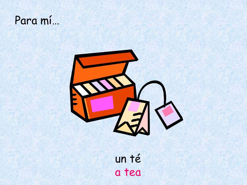 un té a tea