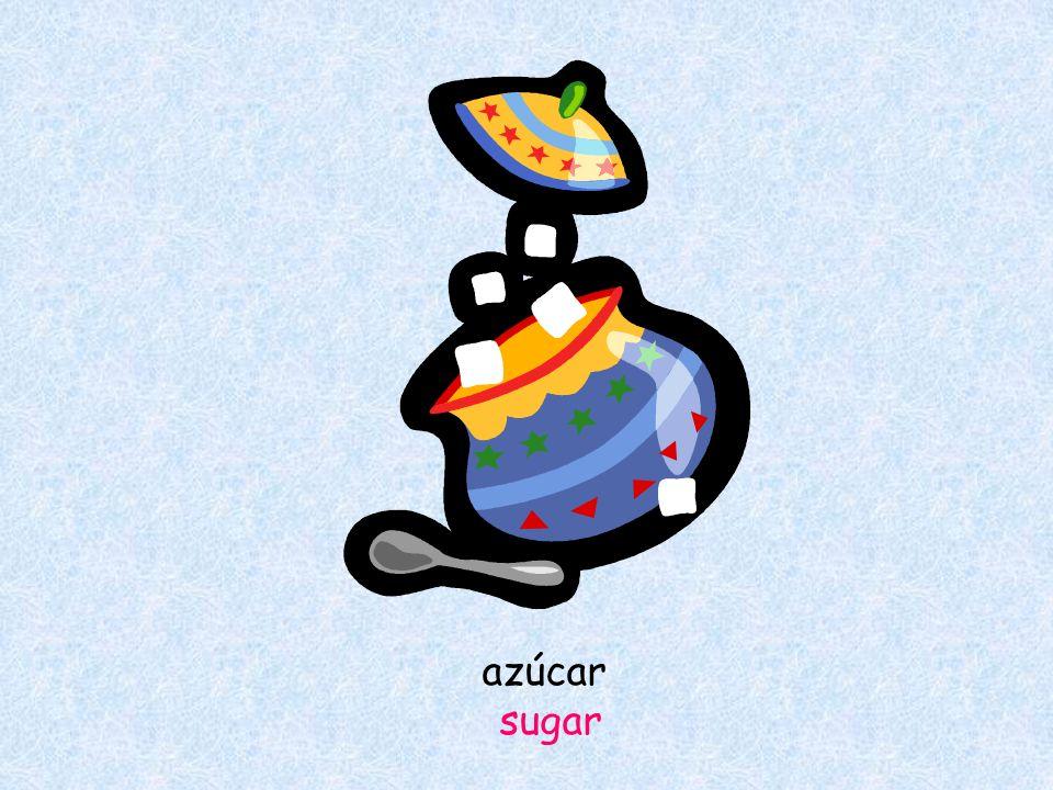 azúcar sugar
