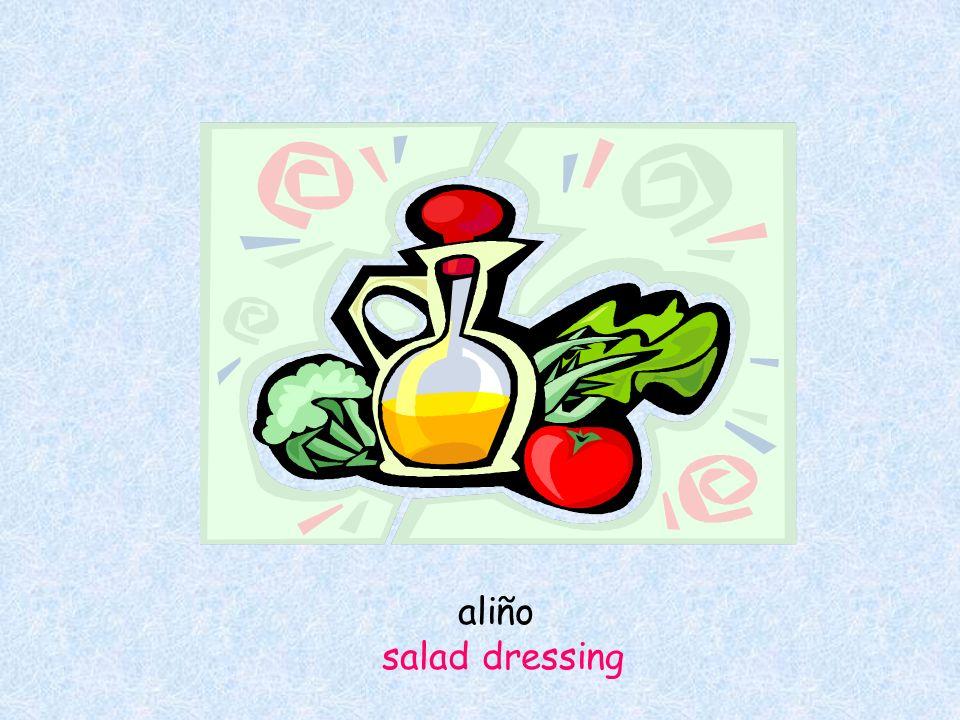 aliño salad dressing