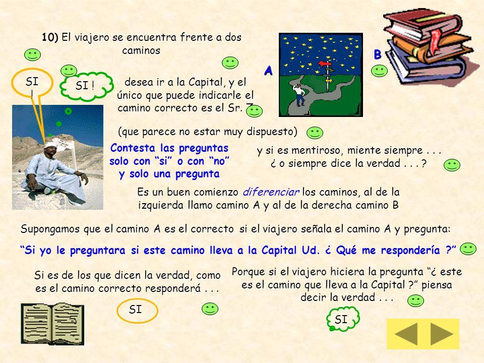 9 iii) si p [ p q ] es tautología también podemos resolver con tabla de verdad pqp qp [ p q ] V V F F V F V F V F F V V F F F La doble implicación es