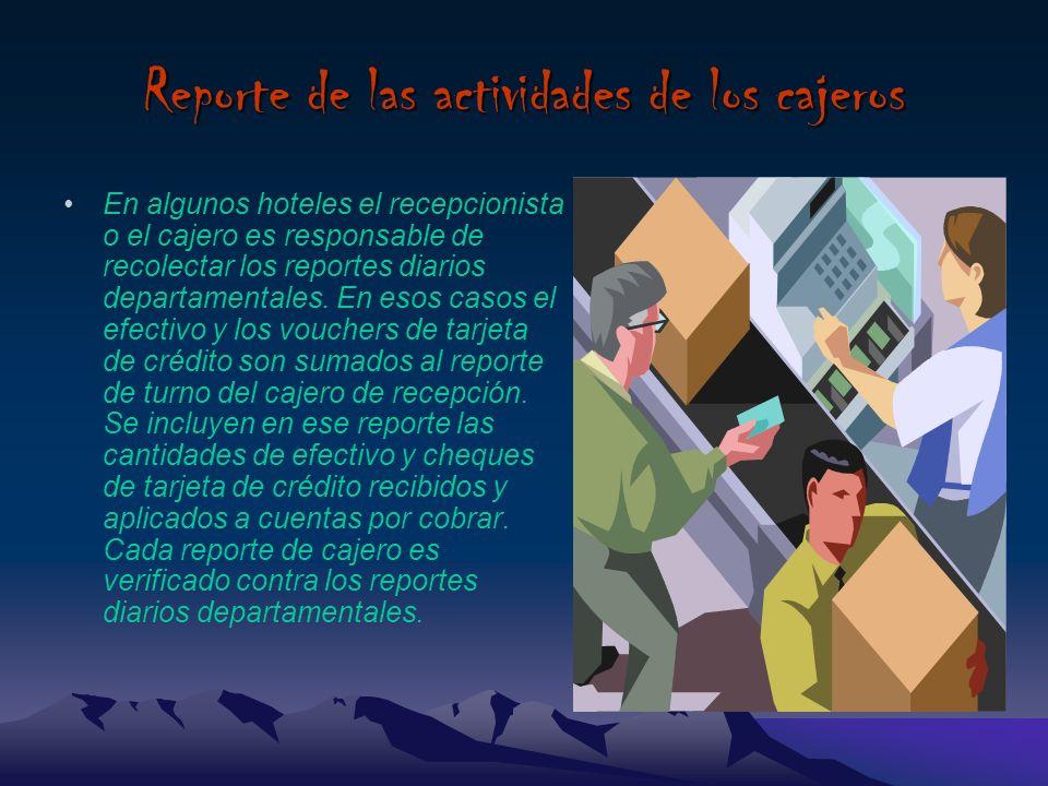 Revisión contable de las operaciones Es la revisión de la operación de todas la áreas del hotel, de los departamentos mayores (recepción, alimentos y