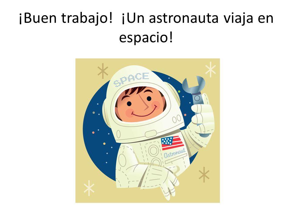 ¿Qué cuadro demuestra a alguien que viaja en espacio?
