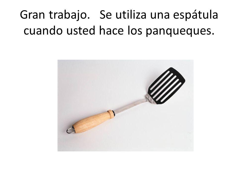 ¿Qué cuadro demuestra algo que un cocinero puede utilizar al hacer los panqueques?