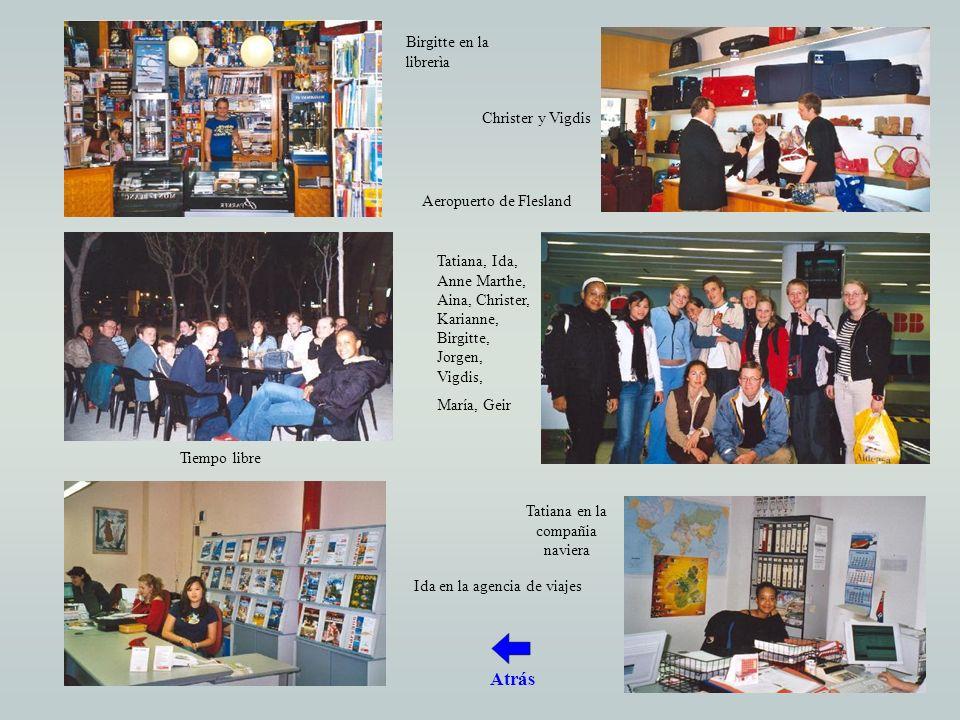 Programa Intercultura Bergen 24-31 de octubre de 2003 Día 0 – 24/10 –Los invitados llegan a las 16:20.