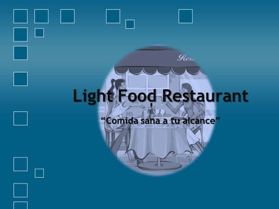 Light Food Restaurant Comida sana a tu alcance