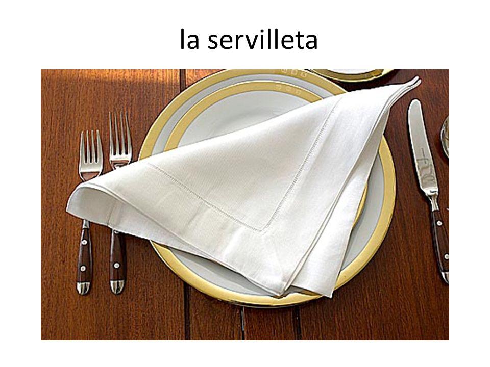 la servilleta