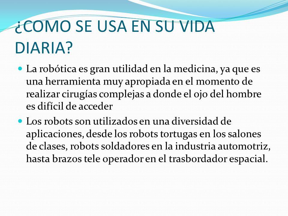 Linografía: https://sites.google.com/site/tegnologia20/-que-es-la- robotica/la-robotica-en-la-vida-diaria https://sites.google.com/site/tegnologia20/-que-es-la- robotica/la-robotica-en-la-vida-diaria http://roboticautopica.blogspot.com/p/aplicaciones- la-vida-diaria.html http://roboticautopica.blogspot.com/p/aplicaciones- la-vida-diaria.html http://www.buenastareas.com/ensayos/La-Robotica- En-La-Vida-Diaria/725784.html http://www.buenastareas.com/ensayos/La-Robotica- En-La-Vida-Diaria/725784.html http://roboticaensalud.blogspot.com/ http://tecnologia.elpais.com/tecnologia/2013/04/1 7/actualidad/1366202229_367545.html
