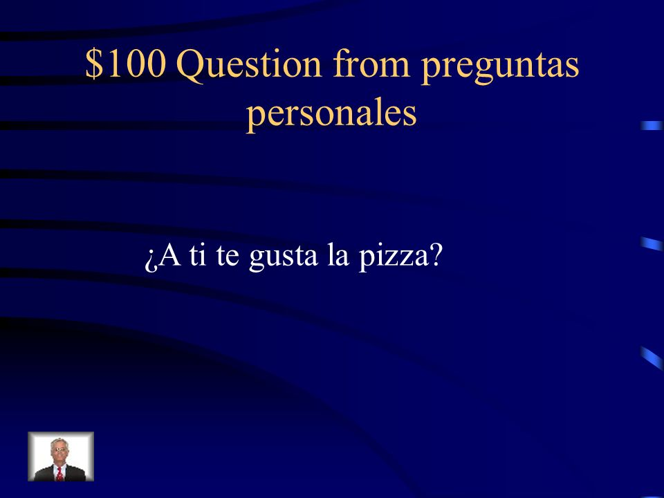 $100 Answer from vocabulario La manzana