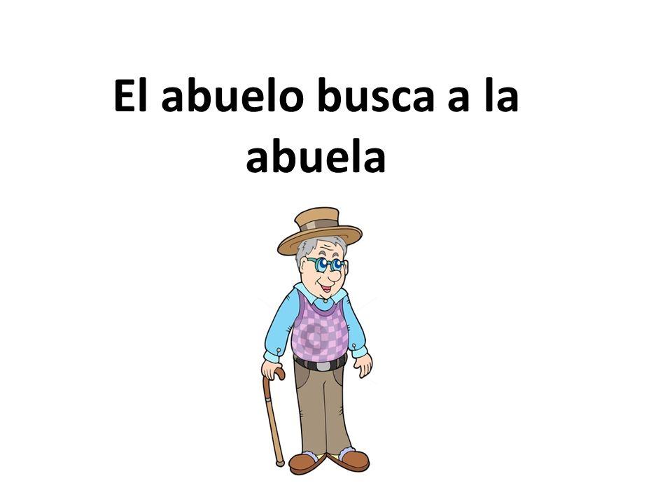 El abuelo se llama Marcelo.El tiene 99 años. El abuelo es guapo y cómico.