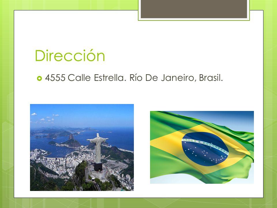 Dirección 4555 Calle Estrella. Río De Janeiro, Brasil.