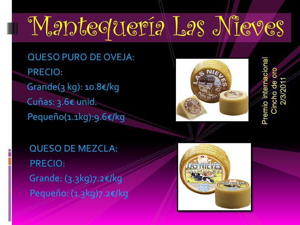 SOBAOS PASIEGOS DE RECETA ARTESANA DE MANTEQUILLA PRECIO: 6´00 (12 unidades por bolsa) Panadería F. López Índice