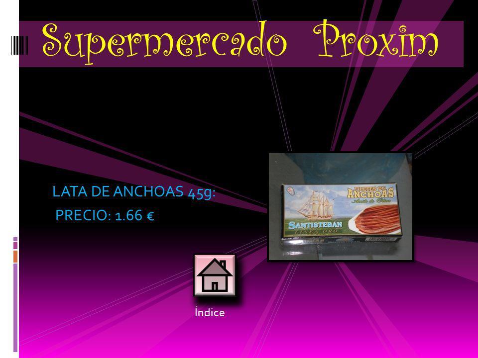 PASTAS ARTESANAS: PRECIO: 3.60 unid. (vienen 20 unidades/bolsa) Panadería Núñez Índice