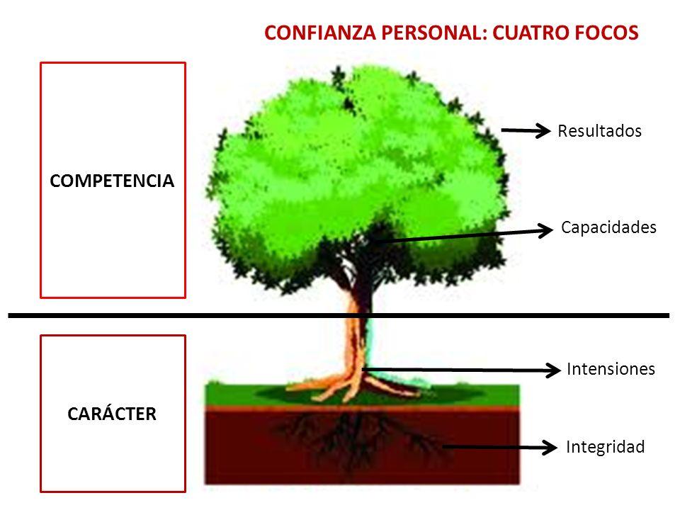 CONFIANZA PERSONAL Cual es la trayectoria.Que conoce.
