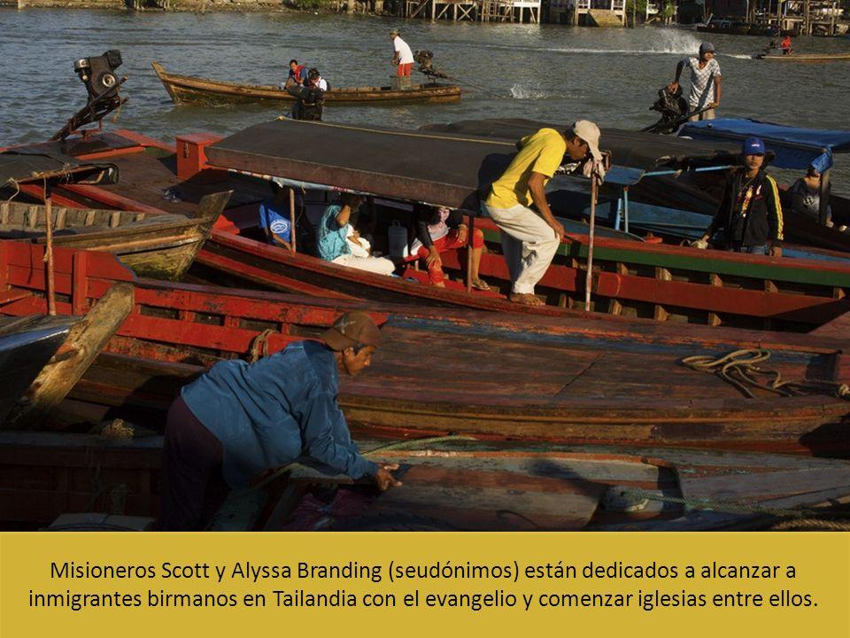 Misioneros Scott y Alyssa Branding (seudónimos) están dedicados a alcanzar a inmigrantes birmanos en Tailandia con el evangelio y comenzar iglesias en