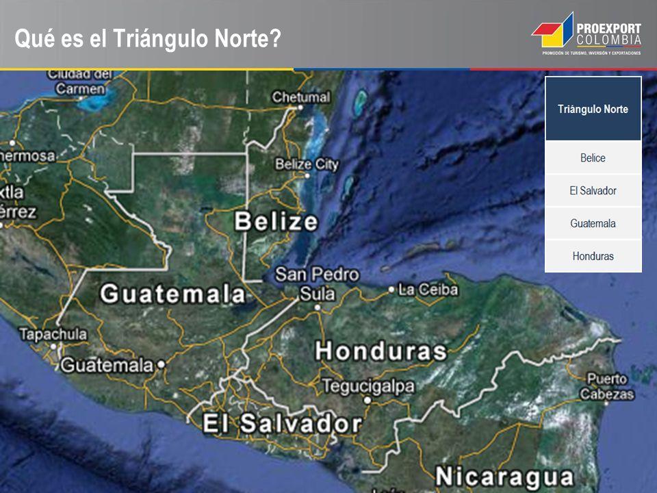 TRATADO DE LIBRE COMERCIO ENTRE COLOMBIA Y TRIÁNGULO NORTE