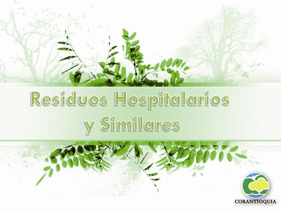 MARCO LEGAL PARA LA GESTIÓN DE LOS RESIDUOS HOSPITALARIOS Y SIMILARES.