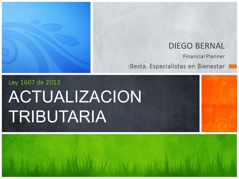 DIEGO BERNAL Financial Planner :Besta.