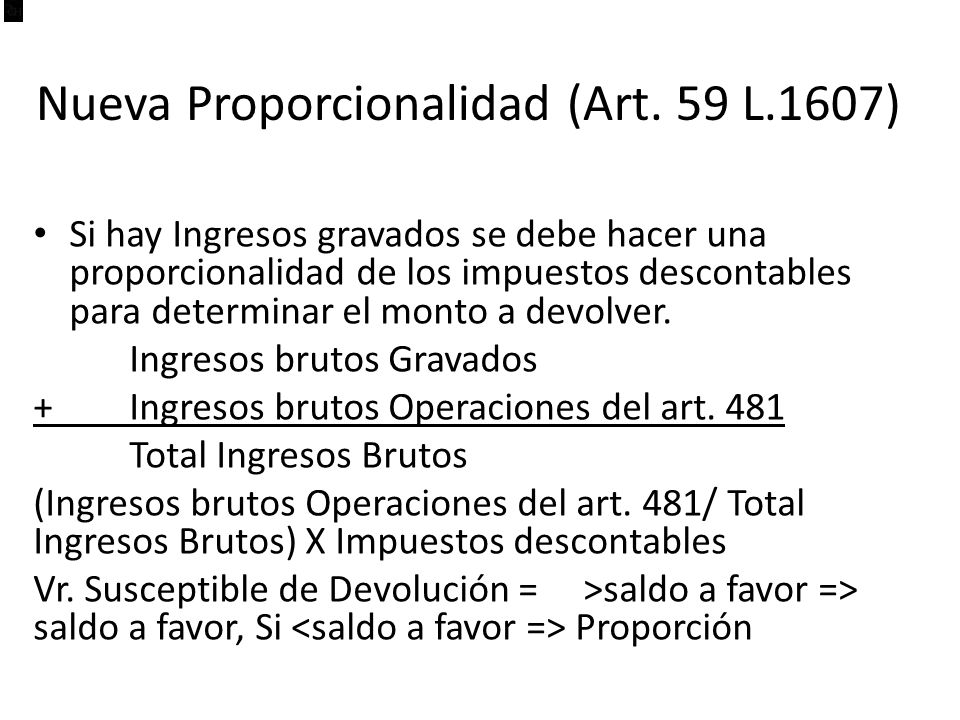 Nueva Proporcionalidad (Art.