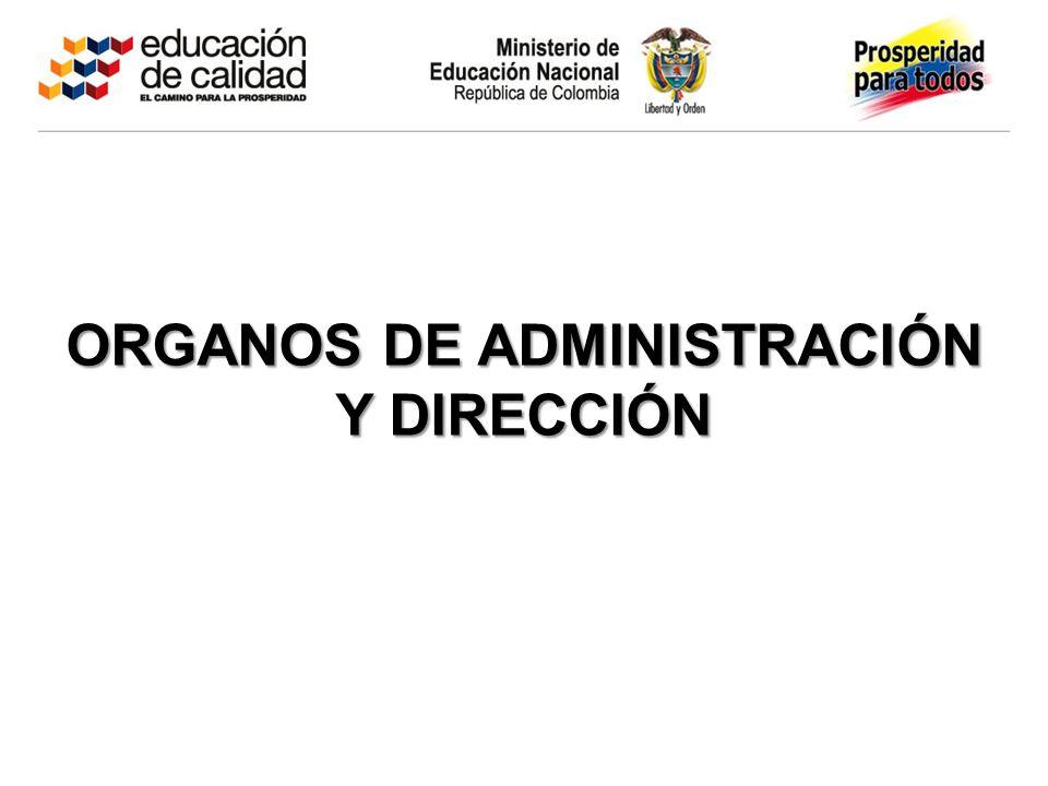 Mayo 05 de 2003 ORGANOS DE ADMINISTRACIÓN Y DIRECCIÓN