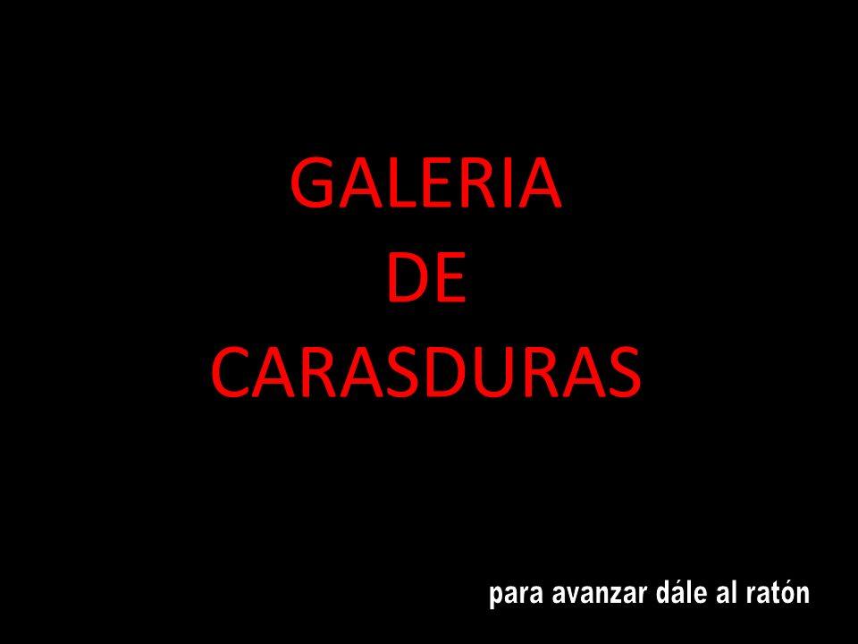 GALERIA DE CARASDURAS