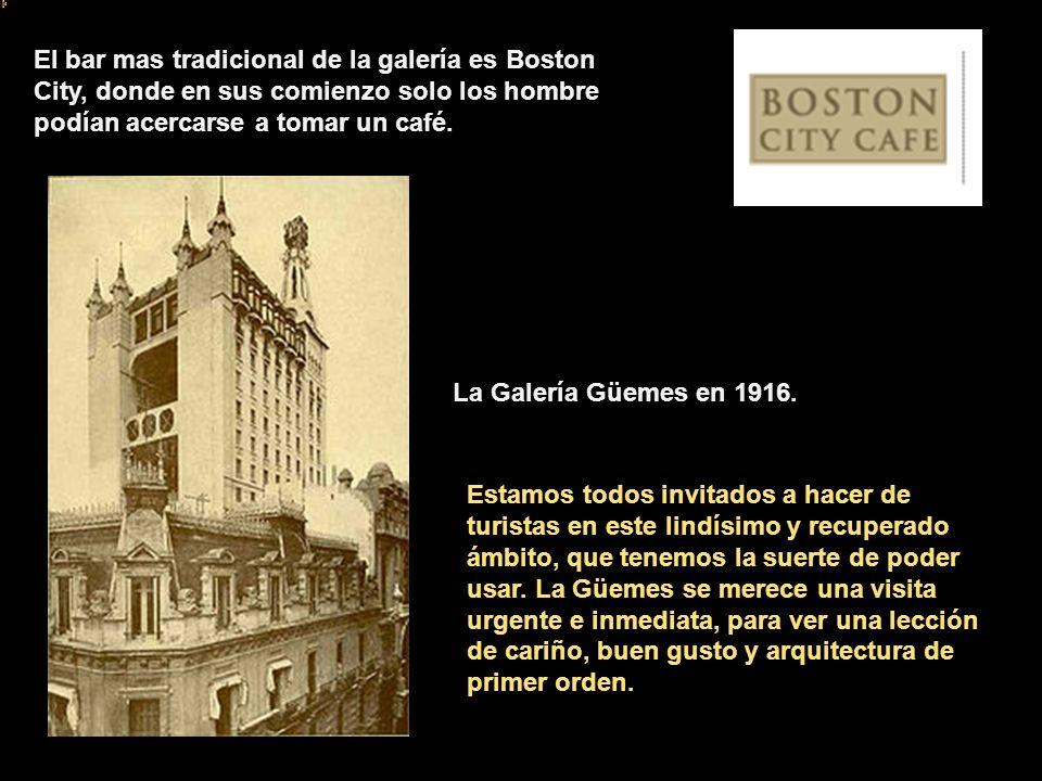 La tradicional perfumería Ruiz y Roca, ocupa desde 1950 un lugar en la galería. Una elegante y hermosa mujer llamada Helen, preparaba las más exquisit