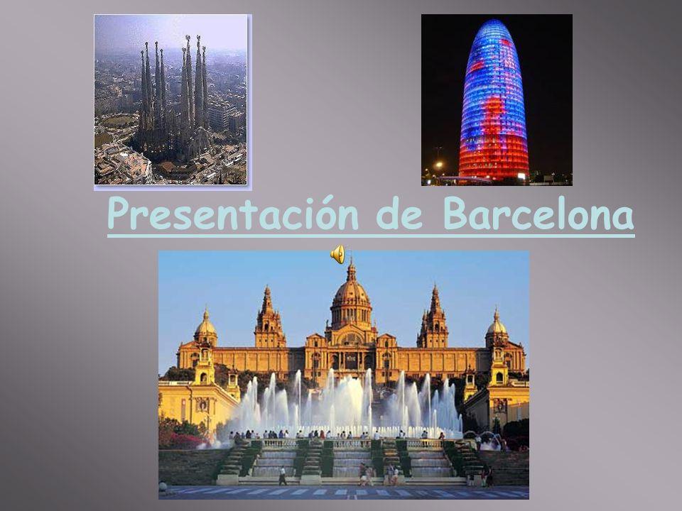 Presentación de Barcelona