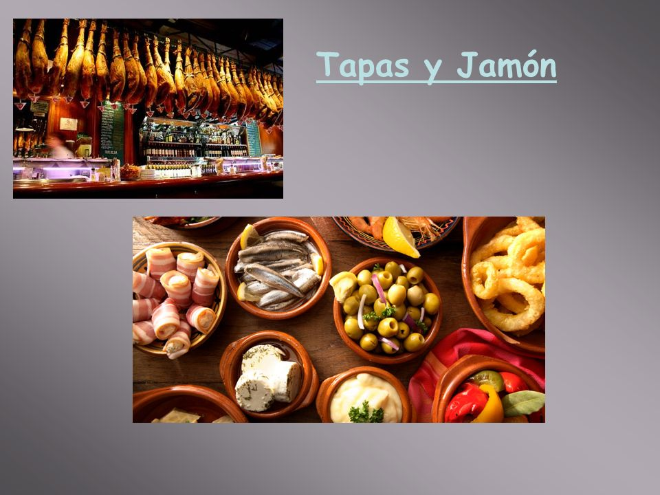 Tapas y Jamón