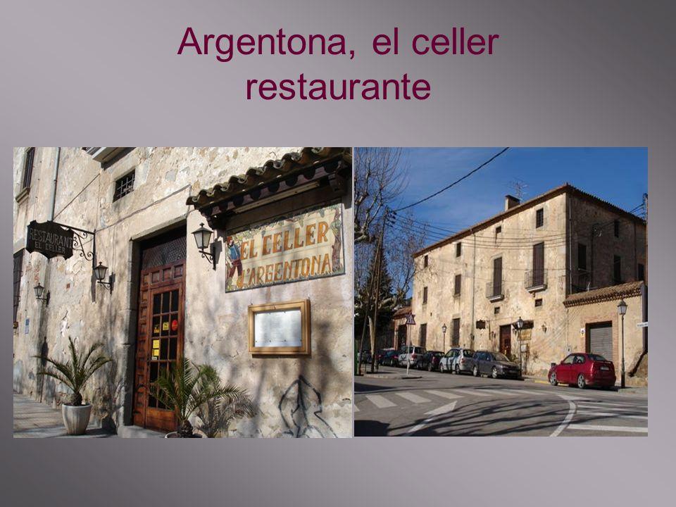 Argentona, el celler restaurante