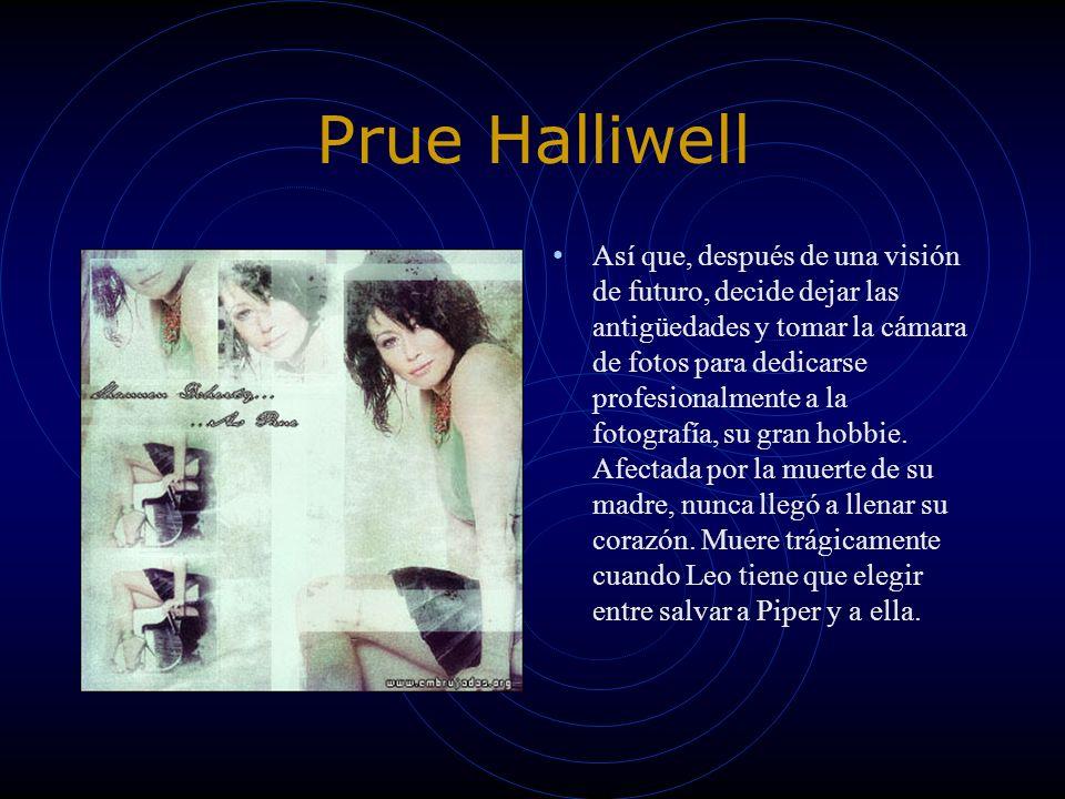 Piper Halliwell Piper crece siendo la mediana de las Halliwells.