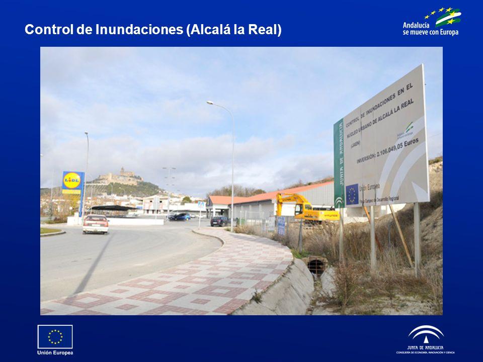 Control de Inundaciones (Alcalá la Real)