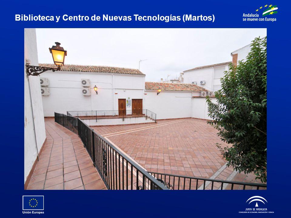 Biblioteca y Centro de Nuevas Tecnologías (Martos)