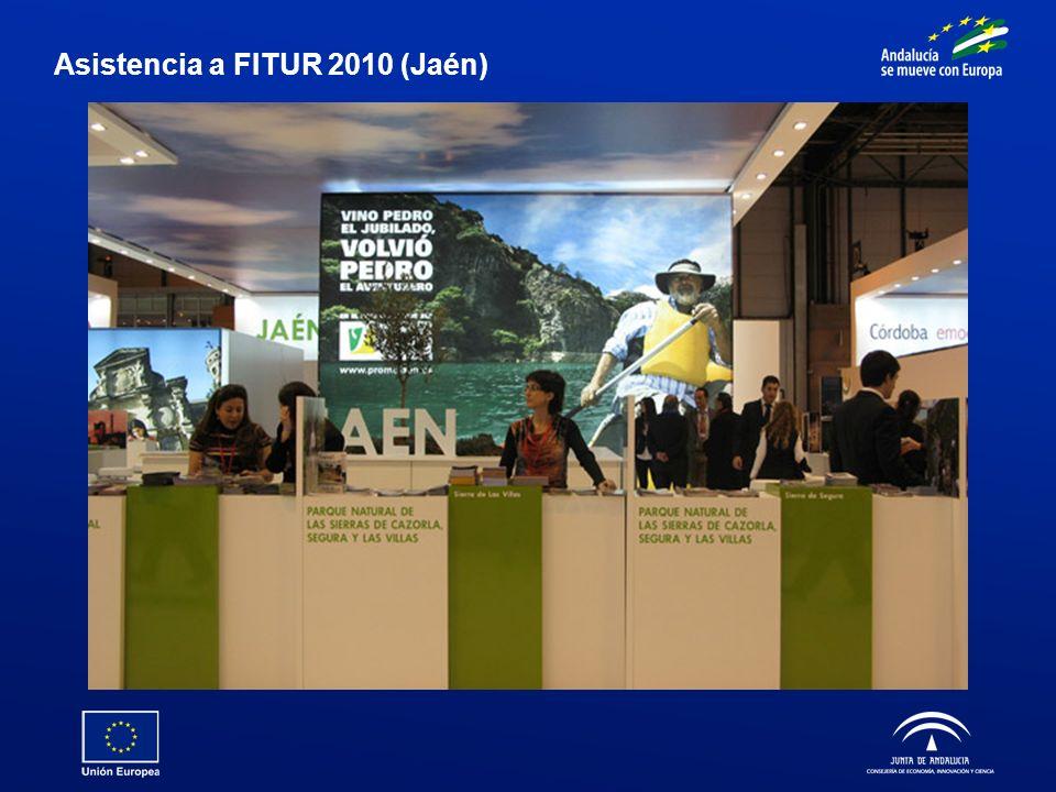 Asistencia a FITUR 2010 (Jaén)