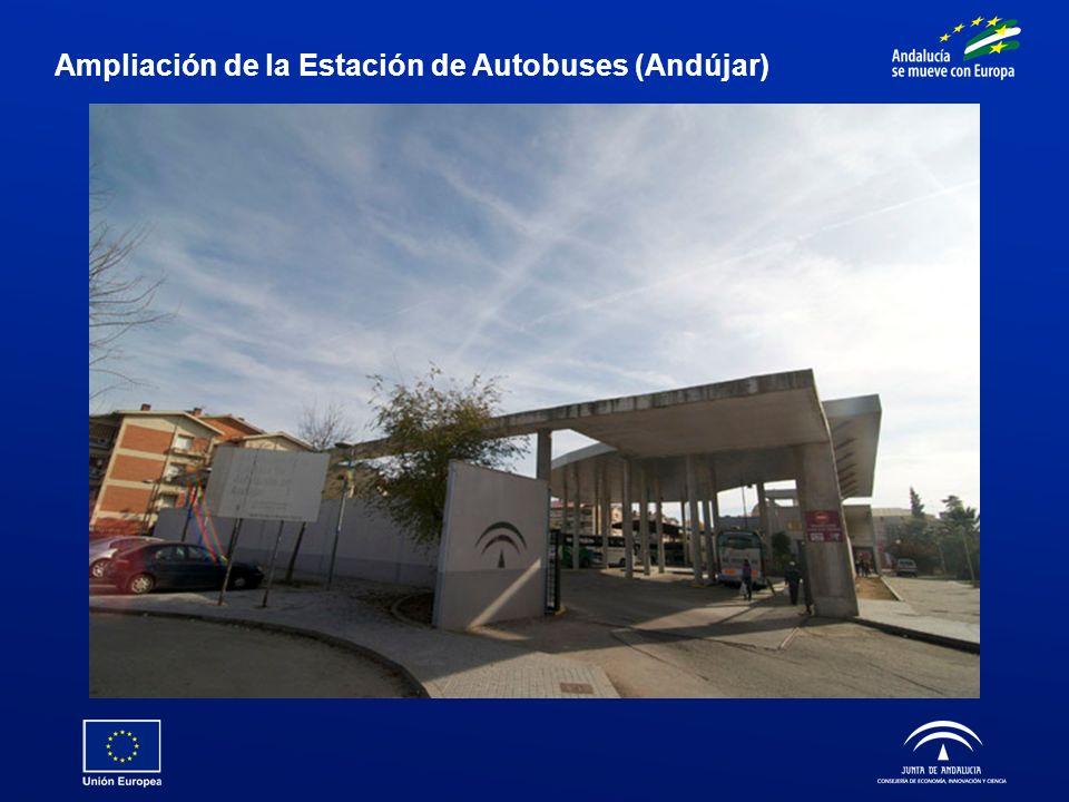 Ampliación de la Estación de Autobuses (Andújar)