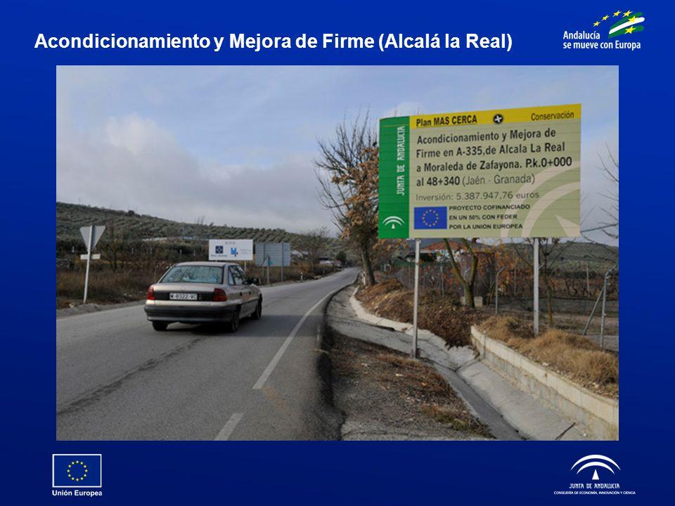 Acondicionamiento y Mejora de Firme (Alcalá la Real)
