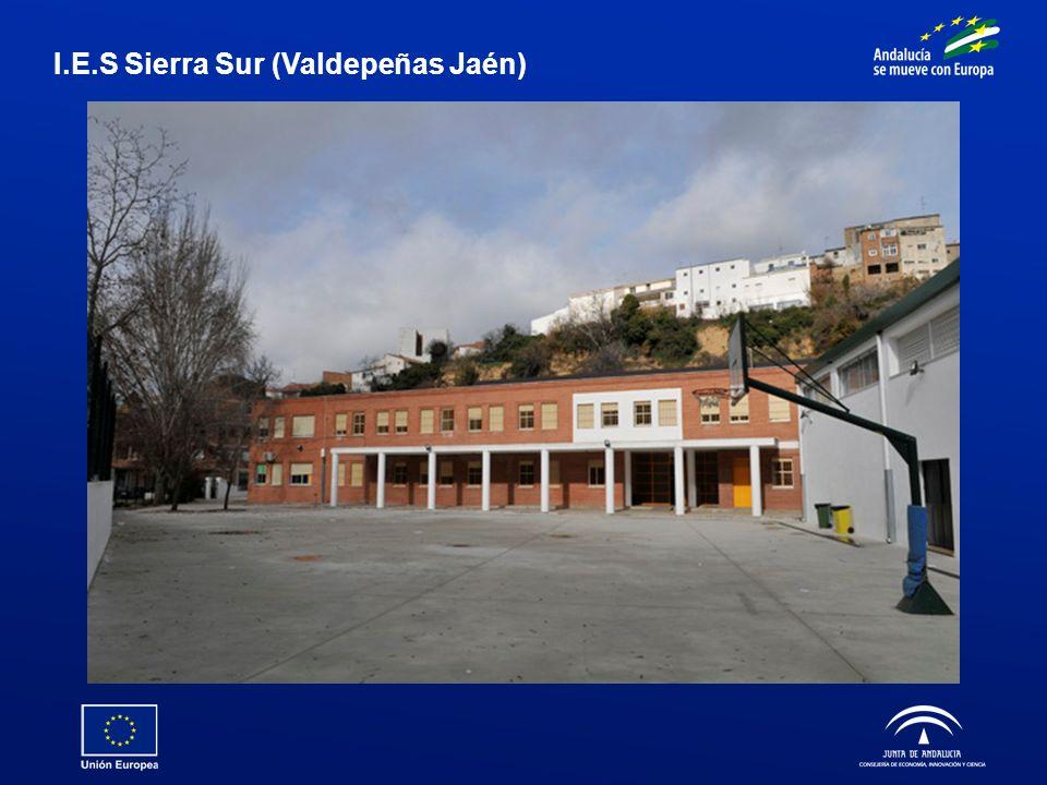 I.E.S Sierra Sur (Valdepeñas Jaén)